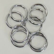 10 pc O Rings for Bird Toy Making 1 inch NP Welded Crafts Hardware