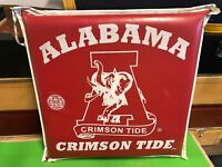 Vintage - University Alabama Crimson Tide Football Seat Cushion - Red Elephant