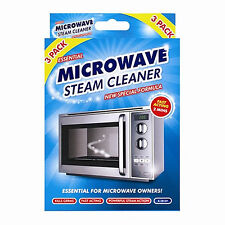 Microwave Steam Cleaner Fast Action Kitchen Oven Cleaning Tool Disinfects Germs