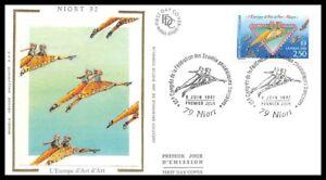 France (L'Europe d'ART) 1992 - Niort - FDC