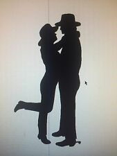 Western Metal Art Luv that Cowgirl/Cowboy Metal Art Home Decor
