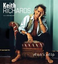 Keith Richards: A Rock 'n' Roll Life Book Rolling Stones Discounted Hardcover