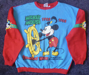 Disney - 'Steamboat Willie' - 60th Anniversary Sweatshirt