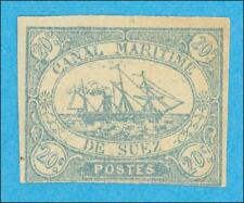 SUEZ CANAL COMPANY SCOTT L3 MINT NEVER HINGED OG ** NO FAULTS VERY FINE !