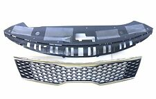 2016-2017 Optima SX SXL Front Upper Grille With Closing Plate Sight Shield OEM