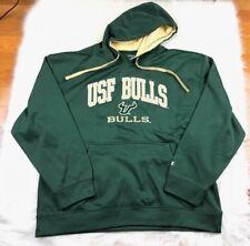 South Florida Bulls USF Men's Pullover Hoodie, Champion, Green 2XL NCAA