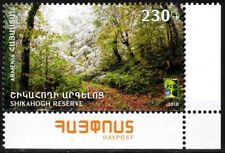 ARMENIA 2018-17 RCC - Nature Reserves. Space Telecom. Joint. Post-CORNER, MNH