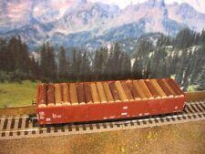 Ladegut H0 1:87 Holzstämme (gr) Ladung / Ladegüter für EAOS Wagen  (16)