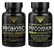 Absonutrix Fucoidan Pure+ Absonutrix Probiotic Max Strength