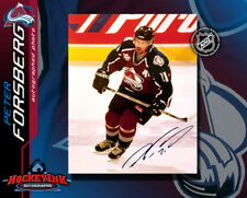 Peter Forsberg Signed Avalanche 8X10 Photo -70129