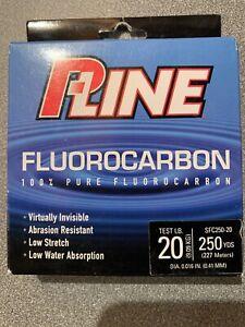 PLine Fluorocarbon 20lb/250yd SFC250-20