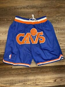Cleveland Cavaliers Summer City Cavs Old School Basketball Team Shorts M-XL