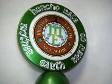 "Mother Earth Brew Co. ""HONCHO HEFE "" Cast Aluminum Craft Beer Tap Handle     #35"