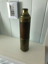 antique marine mahogony cased telescope---1860