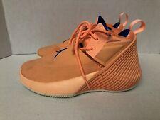 7deb0639ca93 Nike Youth Jordan Why Not Basketball Sneakers Orange Royal Size 4 -Damaged  READ