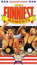 WWF Funniest Moments 1990 original WWE Wrestling VHS