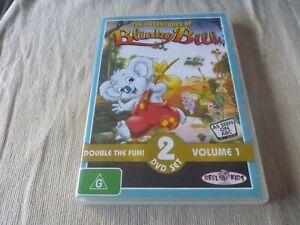 The Adventures of Blinky Bill - Volume 1 (2x DVD) Region 4 Robyn Moore
