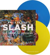 Slash LP World on Fire DOUBLE COLOURED VINYL vendredi noir record store day