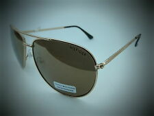NEW men's TOMMY HILFIGER TH JORDAN gold aviator sunglasses