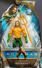 "6"" AQUAMAN  with TRIDENT Strike Figure Articulation  DC"
