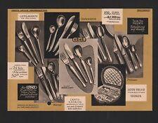 SOLINGEN, Werbung Zeitungsbezugsschein 1961, Gustav Ebel & Co. Besteck-Fabrik