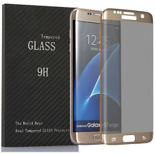 Galaxy S7 Edge Privacy Screen protector 9H Hardness 3D Tempered Glass Anti-spy