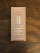Clinique Even Better Makeup SPF 15 - Cream Chamoise - NIB, Full Size