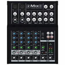Mackie Mix8 8-Channel Compact Mixer with 2 MIC Pre Amps