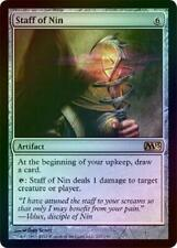 Staff of Nin - Foil New MTG 2013 M13 Magic