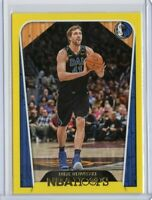 DIRK NOWITZKI Mavericks 2018-2019 NBA HOOPS YELLOW FLOOD PARALLEL #285
