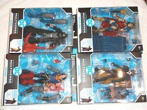 DC Multiverse set MOC 1-4 Darkfather series