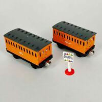 2012 Thomas & Friends Annie & Clarabel Twin Die Cast Metal Toy Trains