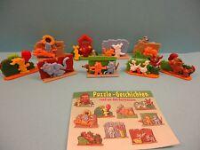 Rund um den Gartenzaun - Steck Puzzle 3D - D/1998 - Ferrero + BPZ