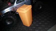 1:10 Scale Trash Can Recycle Bin RC Crawler Garage Accessories (Orange)