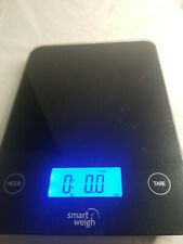Smart Weigh Tempered Glass Touch Kitchen Scale K