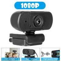 USB Web Camera 1080P 360° Webcam with Microphone,computer for Video Calling USA