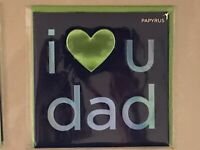 Papyrus - Father's Day greeting card Heart Love - New in packaging