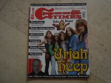 Uriah Heep cover magazine Barclay James Harvest Peter Gabriel Elvis Johnn Wayne