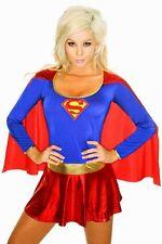 Sexy Donna Super Eroe Costume Travestimento Ottimo per Feste