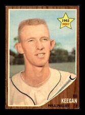 1962 Topps #249 ED KEEGAN EX *1p