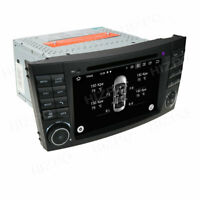 "7"" Android 10 Car Stereo Radio DVD GPS Player For Mercedes Benz E W211 CLS W219"
