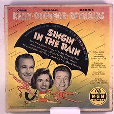 Singing In The Rain /45 Vinyl Box Set Gene Kelly Donald O'Connor Debbie Reynolds