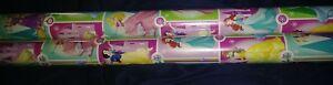 Disney Princess Christmas Wrapping Paper 2 rolls 40 Ft Ea NIP Ariel Belle Aroura