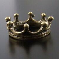 30pcs Antique style bronze water crown Necklace Bracelet charms pendant 18x18mm