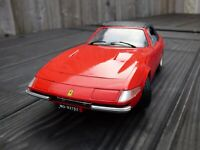 Techno Giodi Red Ferrari Daytona 365 GTS Convertible Cabriolet 1:18 Toy Car