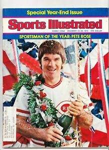 Sports Illustrated Sportsman of the Year PETE ROSE December 22-29 1975