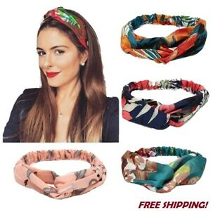 NEW Print Hair Band For Women's Girls Bohemian Summer Fashion Headband BEST GIFT