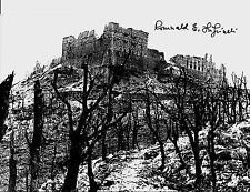 ROMUALD LIPINSKI 12 PODOLSKI LANCERS,2ND POLISH CORPS MONTE CASSINO SIGNED PHOTO