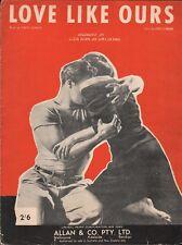 The Men 1950 MARLON BRANDO Movie DIMITRI TIOMKIN Sheet Music HTF Love Like Ours!