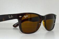 Ray-Ban New Wayfarer RB2132 710 Sunglasses Light Havana  Crystal Brown 52mm
